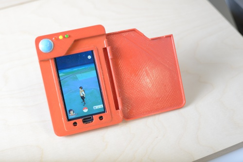 Pokedex Battery Case Sparkfun