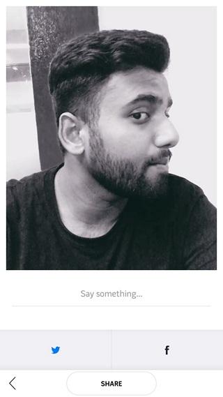 Polaroid Swing compartir foto en movimiento