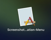 change default screenshot location on mac app in launchpad