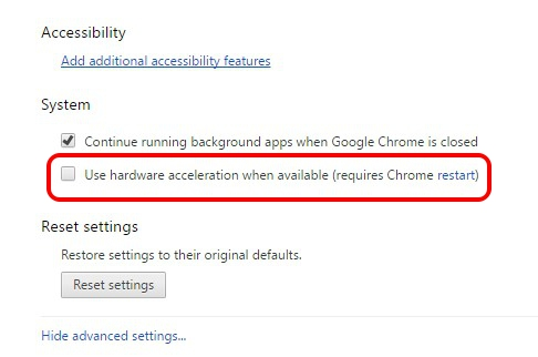 chrome-disable-hardware-acceleration