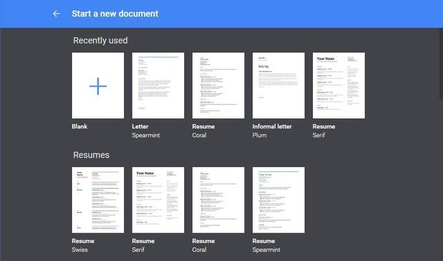 google-docs-templates
