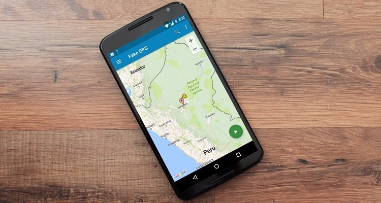 how to change location on android phone