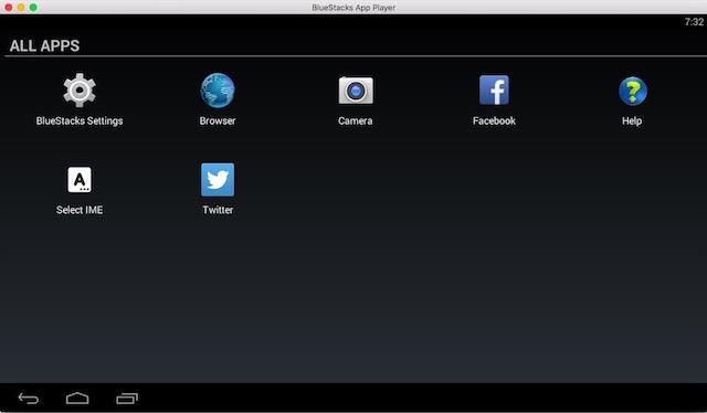 Emulator Android untuk bluestacks Mac