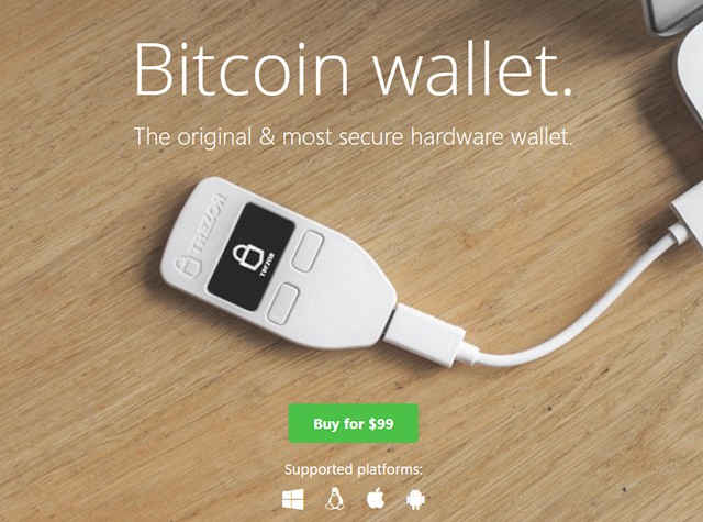 cryptocurrency wallet usb