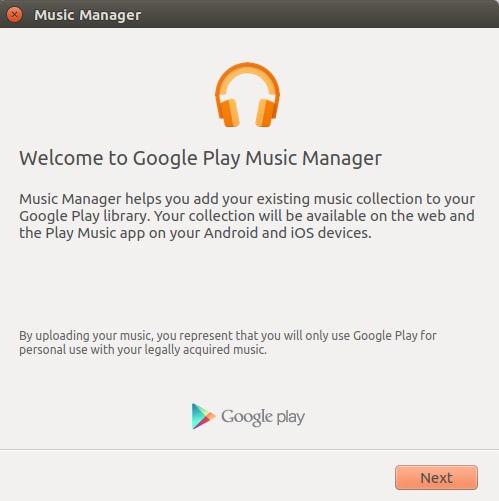 administrador de música de google 1