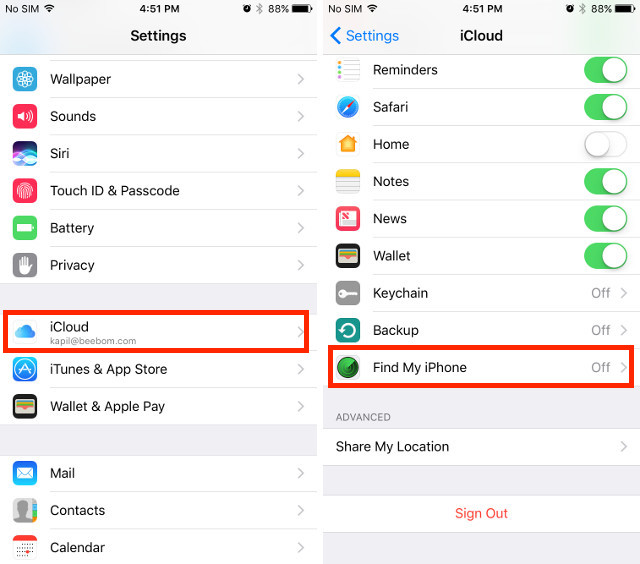 how to turn off find my iphone without icloud password how to jailbreak ios 10 2 and install cydia guide beebom 21534