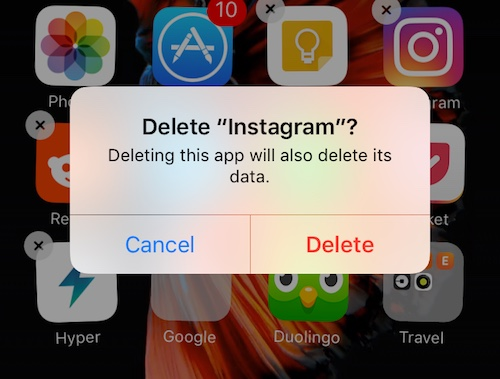 how to clear cache on iphone instagram