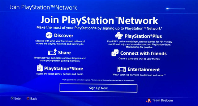 How to change country on playstation 4