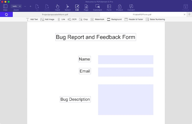 How to Create Fillable PDF Forms with PDFelement 6   Beebom
