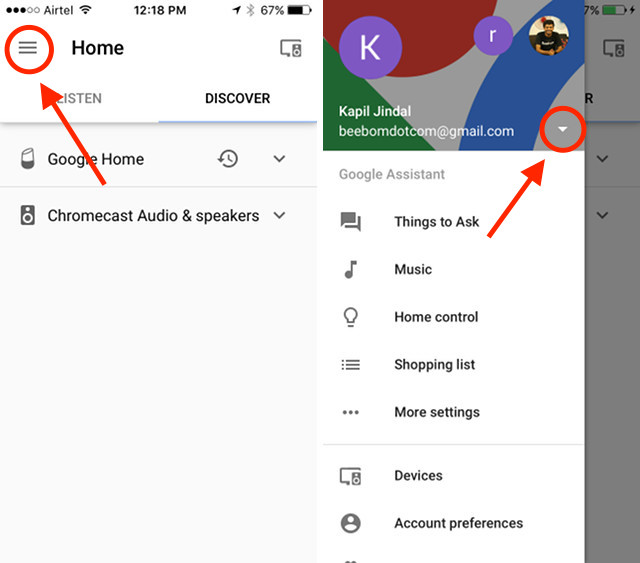 how to add music to google home