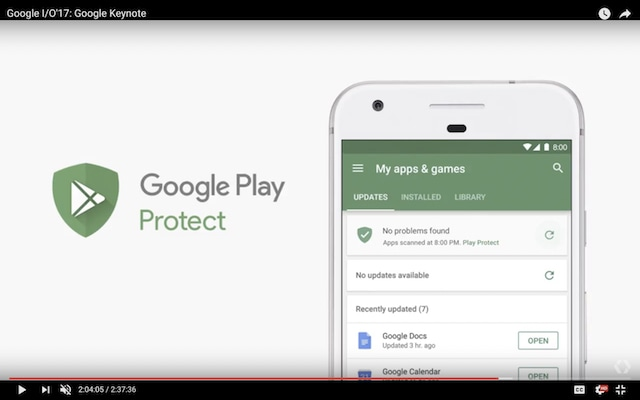 Google Play melindungi