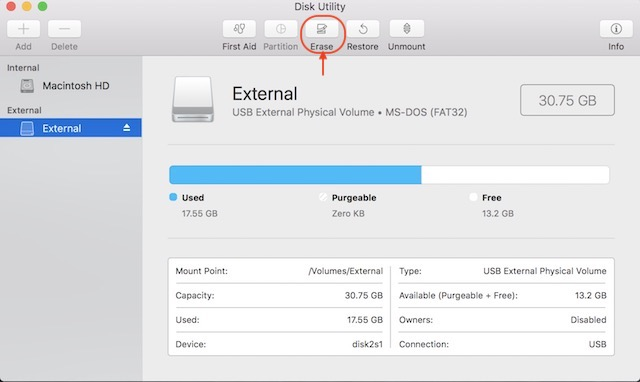 Disk Utility 1