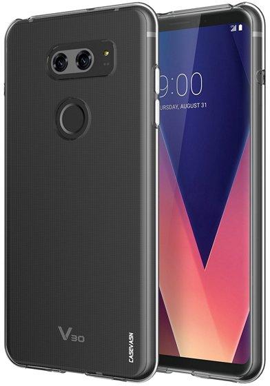 Casevasn Soft TPU Clear Case For LG V30