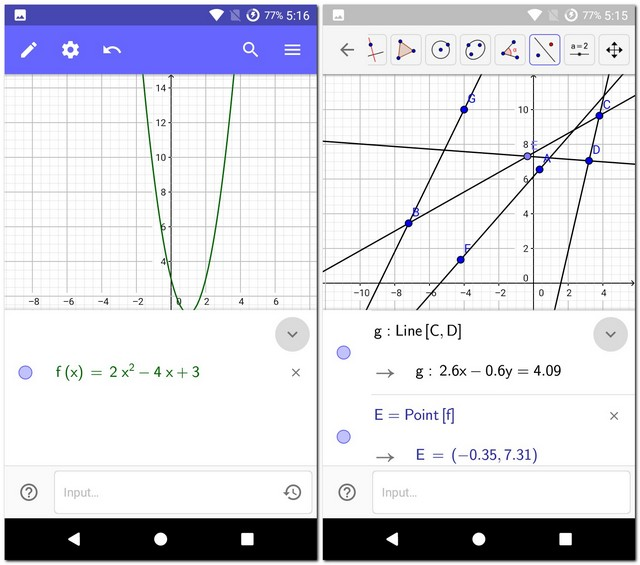 GeoGebra Graphing Calculator