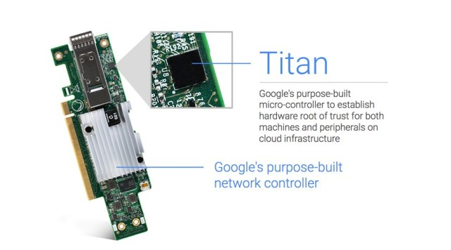 Google Titan Security Chip