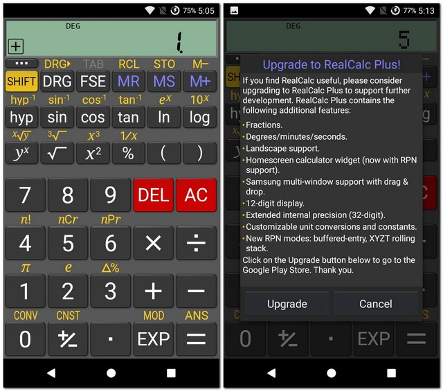 RealCalc Mathway Combinations on phone case, how graph,