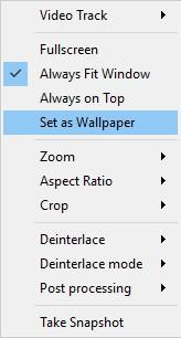 Set as Wallpaper