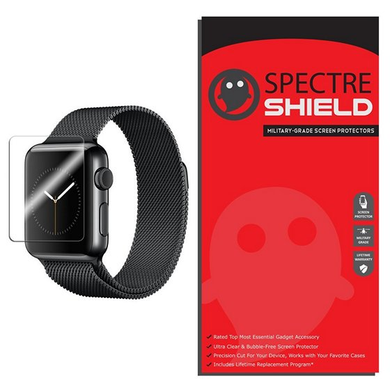 Spectre Shield Full Coverage Clear Film For Apple Watch