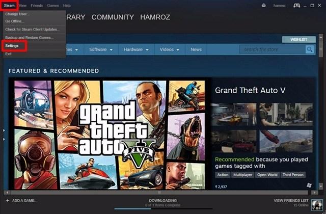 Configuración de la cuenta de Steam