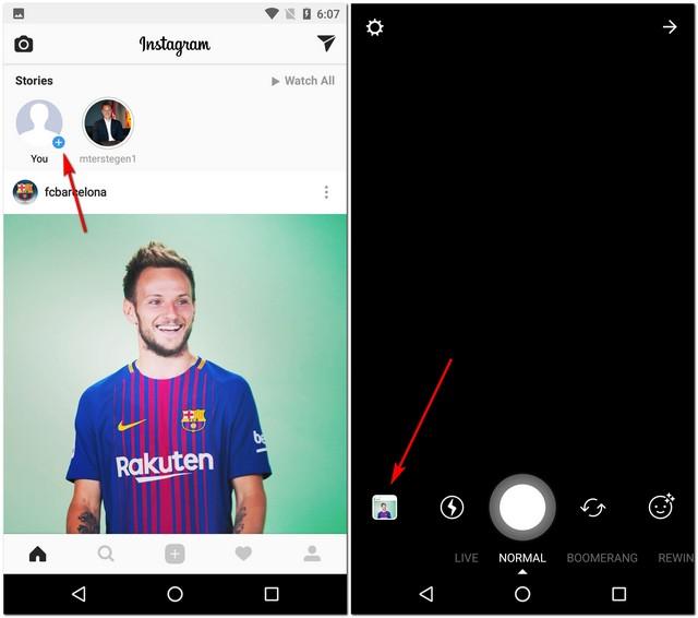 Add Instagram Story