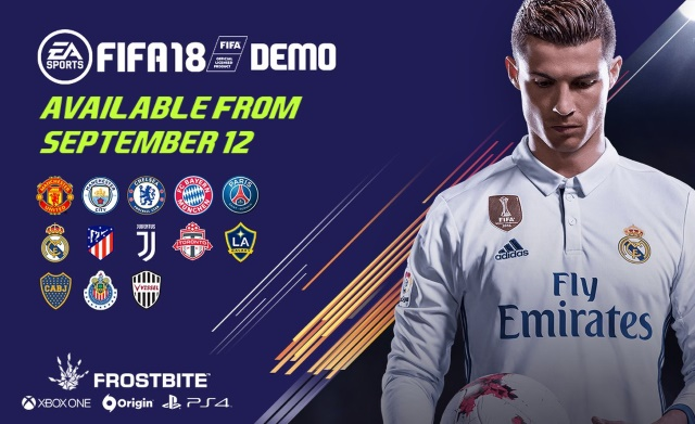 FIFA 18 Demo Out
