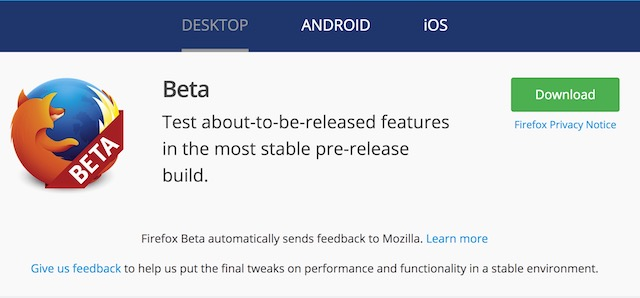 Firefox Quantum Look >> Firefox Quantum Beta: Is It The Fastest Browser Ever | Beebom