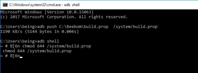 build.prop permissions