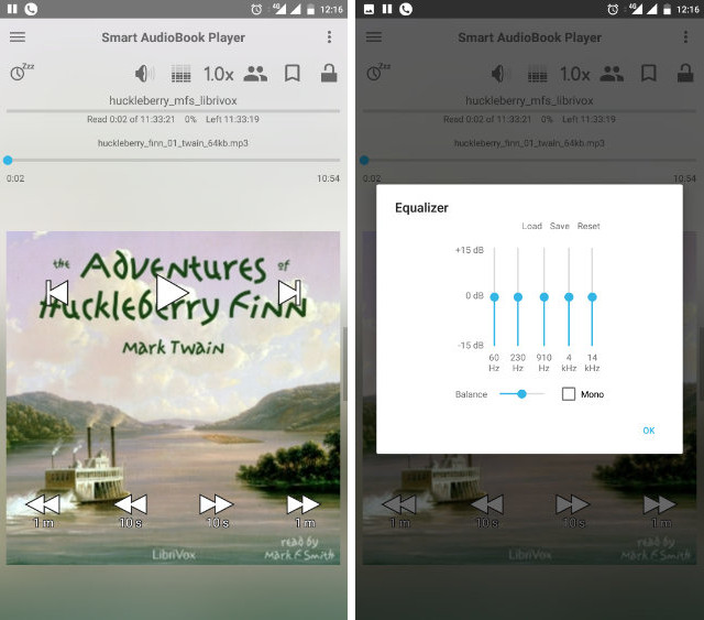 how to play audiobooks on android phone