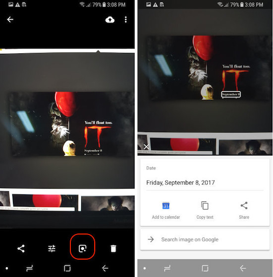 Enabling Google Lens step - 6