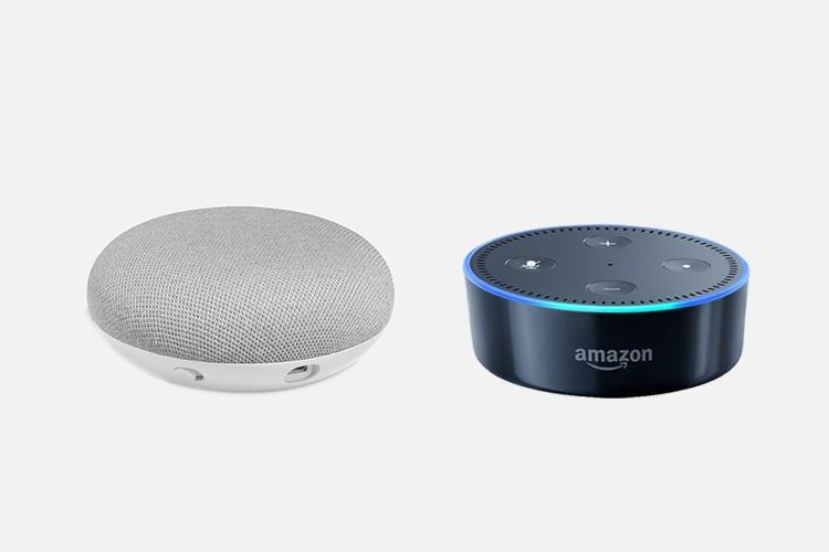google home mini vs amazon echo dot best mini smart speaker beebom. Black Bedroom Furniture Sets. Home Design Ideas