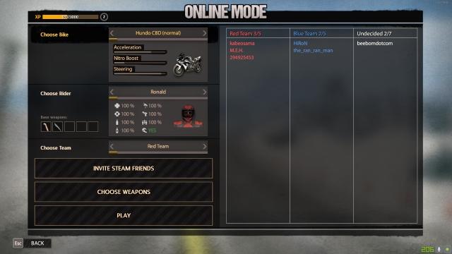 Road Redemption Online Team