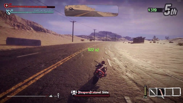 Road Redemption Steering