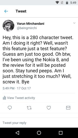 Tweets Posteddd
