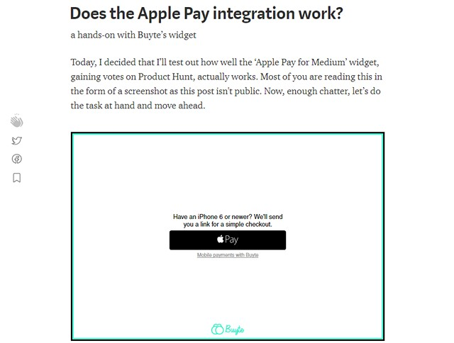 apple pay medium