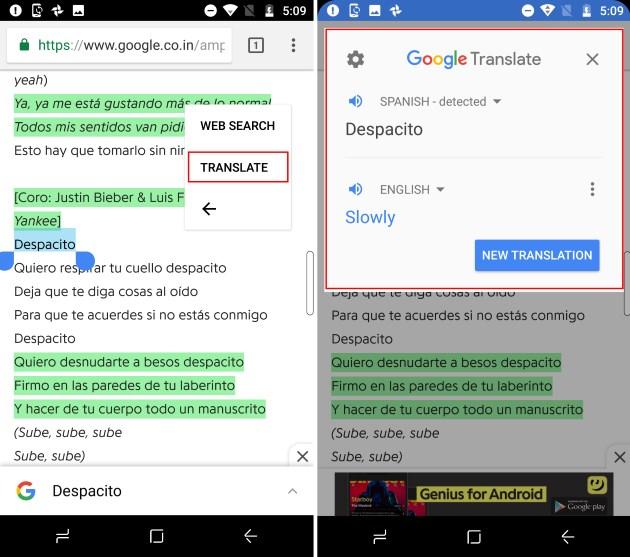 translate tap