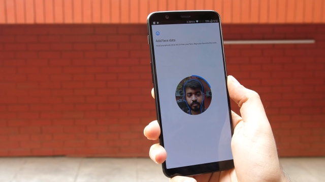 OnePlus 5T Face Unlock Add Face