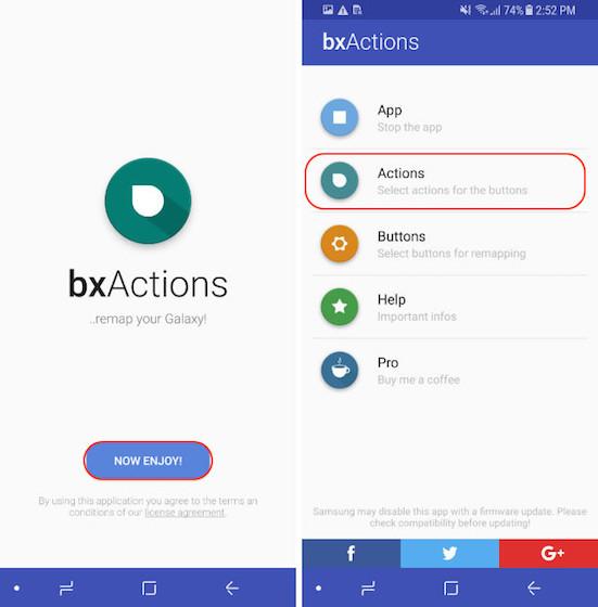 Reasignación del botón Bixby - Modo de bloqueo - Paso 3