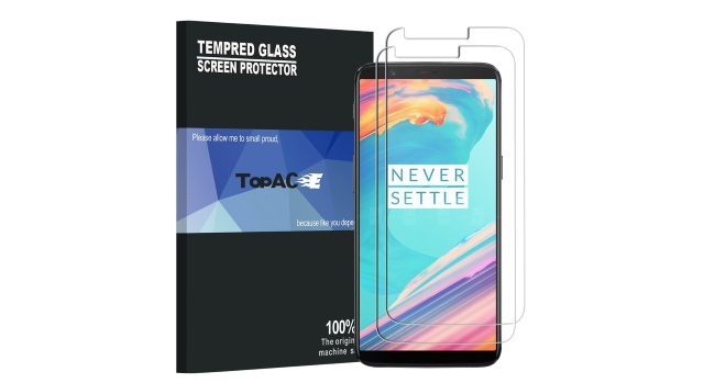 TopACE OnePlus 5T Glass-Film Screen Protector