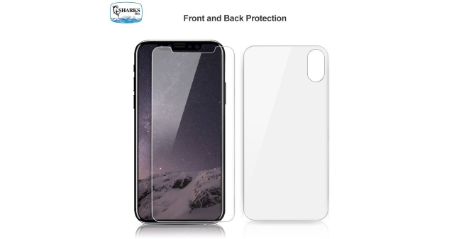 iPhone X Front and Back Screen Protector
