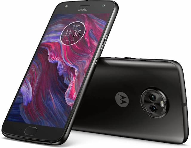 moto x4 front and back