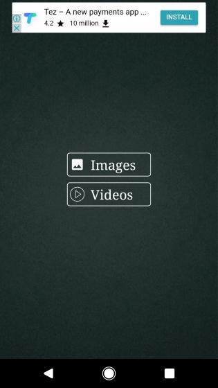 Sélectionnez des images ou des vidéos