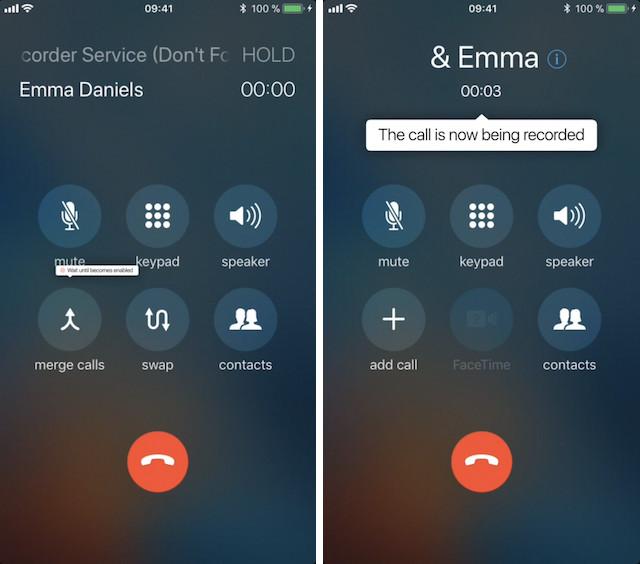 3. Call Recorder для iPhone