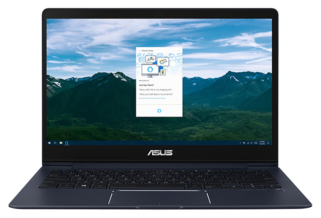 Asus Showcases Alexa Integration For Laptops at CES 2018