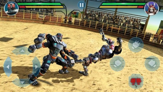 30 Best Multiplayer Games for Android in 2018  Free and Paid    Beebom Based on the Real Steel movie  you get to assemble and train your own  mechanical boxing robot to kick and punch other robots  The game is  action packed and