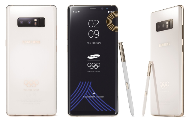 Samsung Galaxy Note 8 Olympic Edition