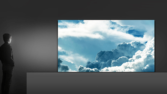 Samsung's stunning 'The Wall' MicroLED TV