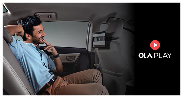"""Ola Bets Big On In-Cab Entertainment and Productivity System """"Ola Play"""""""