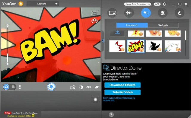 Youcam is one of the most popular webcam software out there, and for a good  reason. A clean UI, which is far from the cluttered interface you'll find  in ...