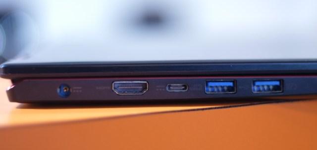 Acer Nitro 5 Spin Left Side