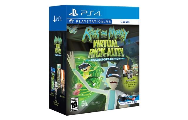 Rick and Morty Virtual Rick-ality Collector's Edition